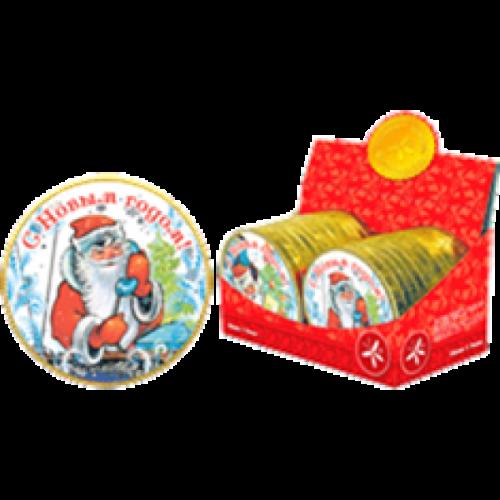 НГ Медаль дед Мороз 25г
