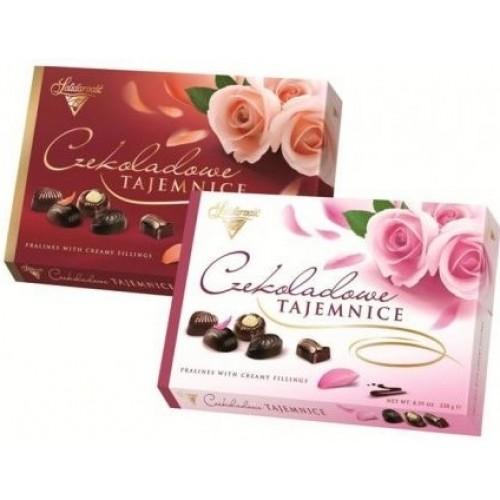 """Коробка конфет """"Шоколадные Секреты (розы)"""""""